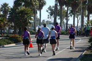 Metroknow in the Santa Barbara Half Marathon